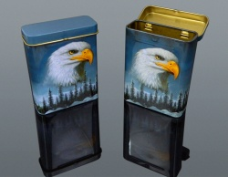 CIGARETTE BOX-METAL